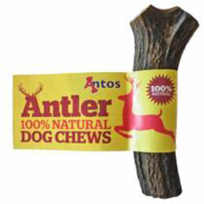 Picture of Antos Antler Dog Chew - Large (approx. 151g - 220g).