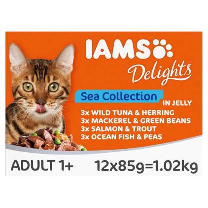 Picture of IAMS CIJ SEA CAT FOOD 85G