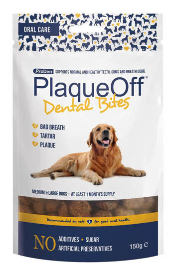Picture of PlaqueOff ® Dental Bites - 150g