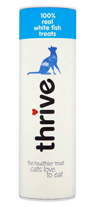 Picture of Thrive ® 100% White Fish Cat Treats - 12 x 15g