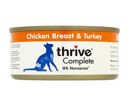 Picture of THRIVE CAT TIN CHICK/TURKEY