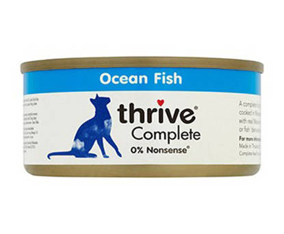 Picture of THRIVE CAT TIN OCEAN FISH