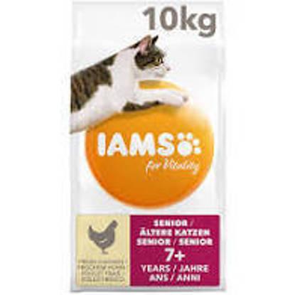 Picture of Iams Vitality Senior Cat Chicken 10kg