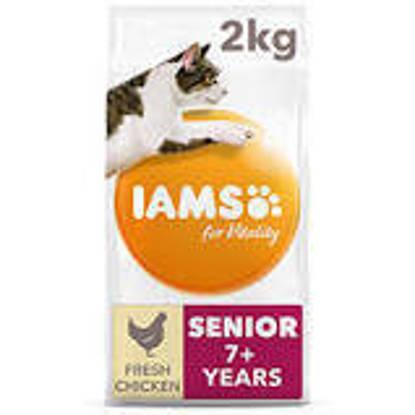 Picture of Iams Vitality Senior Cat Chicken 2kg