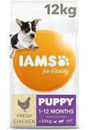 Picture of Iams Vitality Puppy Small / Medium chicken 12kg
