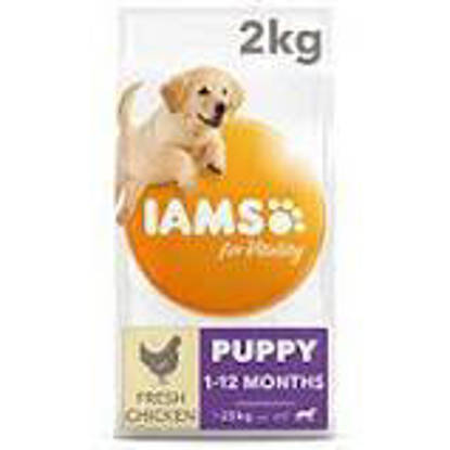 Picture of Iams Vitality Puppy Large Breed Chicken 2kg