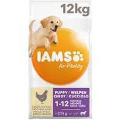 Picture of Iams Vitality Puppy Large Breed Chicken 12kg