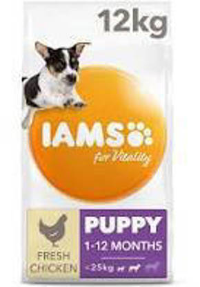 Picture of Iams Vitality Puppy Small / Medium Chicken 2kg